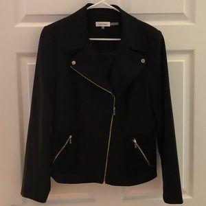 Calvin Klein moto jacket NWOT